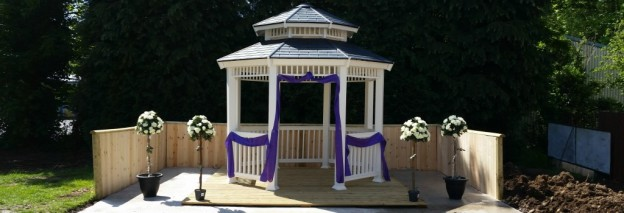 A Summer Wedding Venue in South Wales