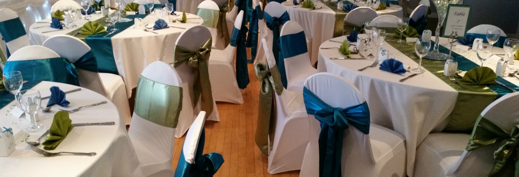 Covered or naked? What do wedding packages in South Wales offer when it comes to chair covers?